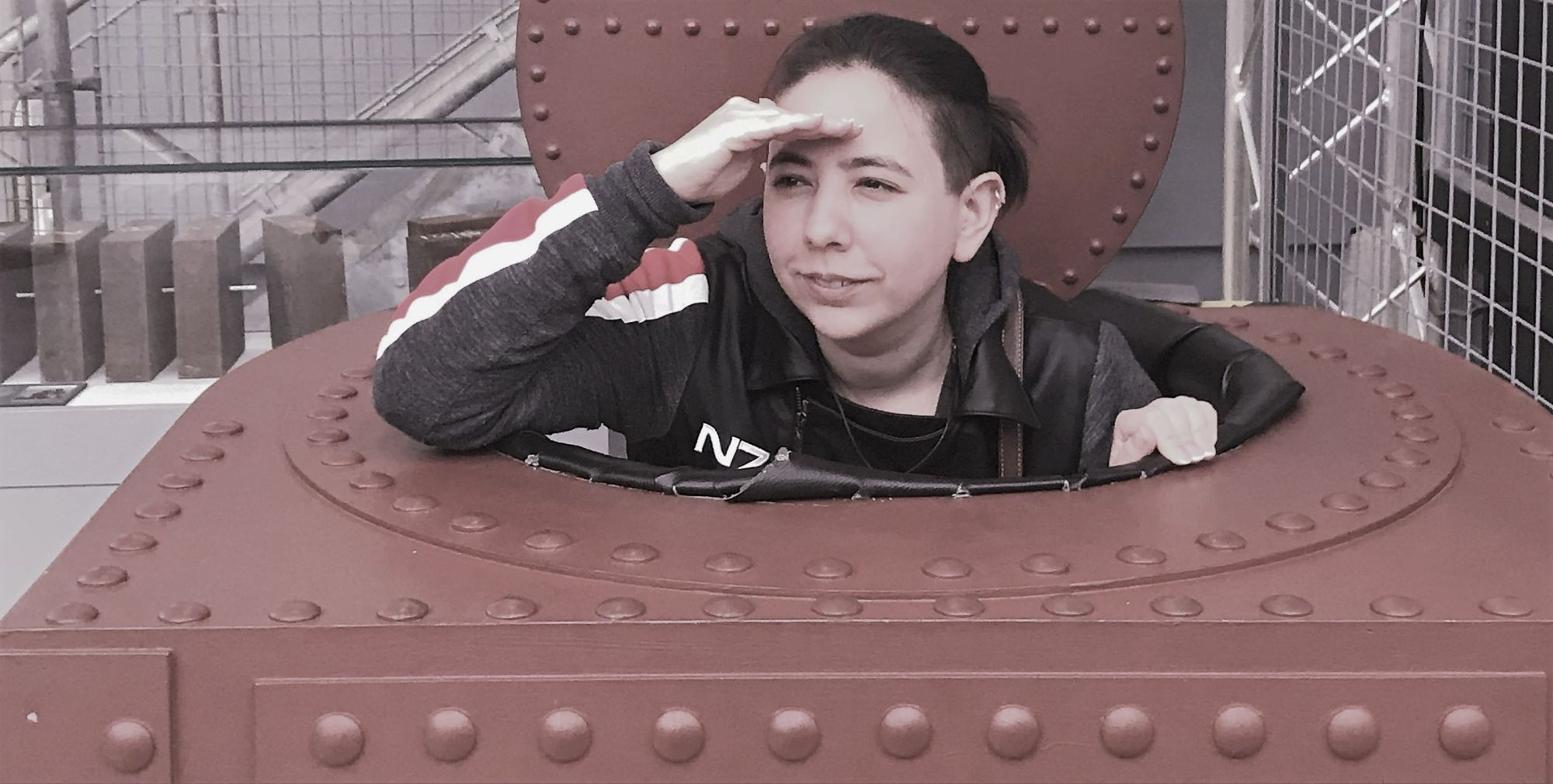 Tank commander Sam